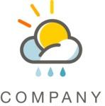 Company logo weather color