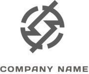 Angular business logo black