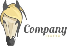 Horse business logo color