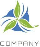 Company logo flower color