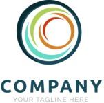 Company logo sphere color