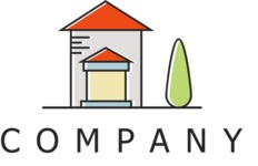 House company logo color