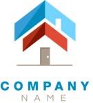 Business logo home color