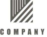 Business logo square black