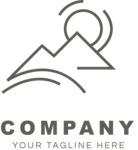 Company logo nature black