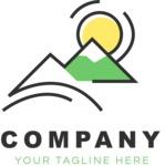 Company logo nature color