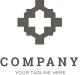 Business logo cross black