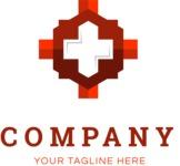 Business logo cross color