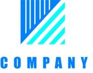 Business logo square color