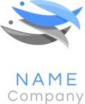 Fish business logo color