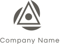 Business logo triangle black