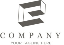 Business logo letter black