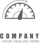 Company logo speed black