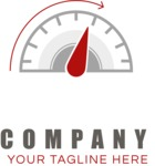 Company logo speed color
