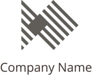 Company logo merge black