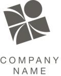 Business logo elements black