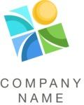 Business logo elements color