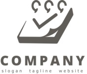 Business logo results black