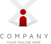 Company logo color cross