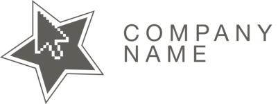 Company logo star black