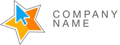 Company logo star color