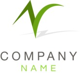 Company logo abstract color