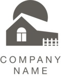 Company logo farm black