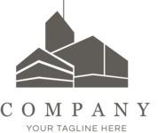 Business logo cityscape black