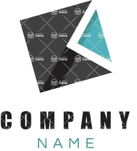 Company logo cube color