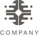 Business logo oval black