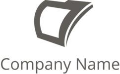 Company logo file black