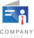 Business logo message color