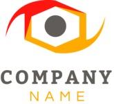 Minimalistic business logo color