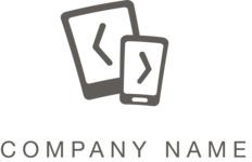 Business logo IT black