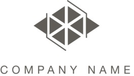 Business logo geometric black