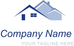 Business logo houses color