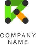 Arrow business logo color