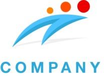 Company logo swoosh color