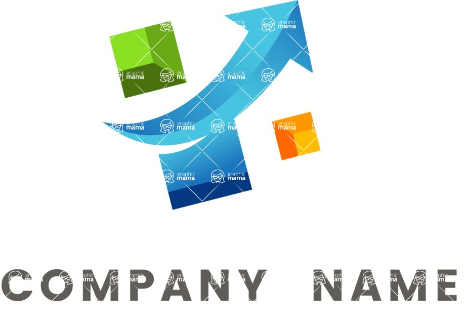 Business logo success color