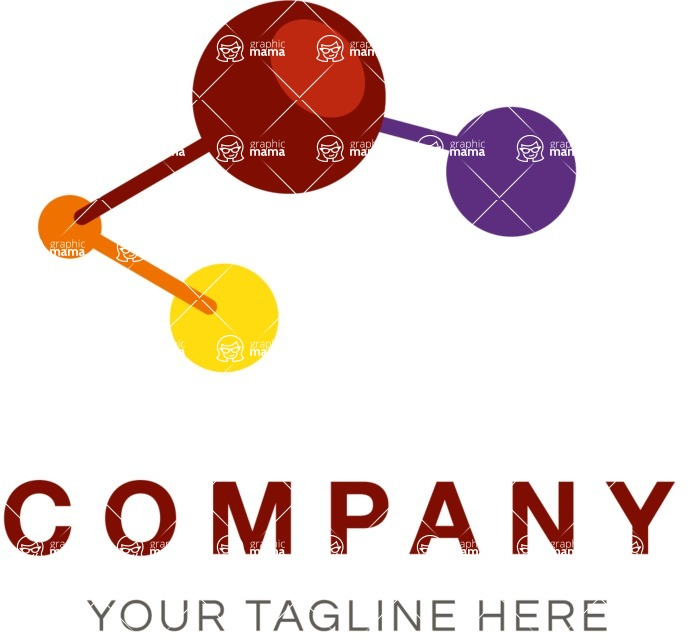 Business Logo Templates - vector graphics in a pack from GraphicMama - Innovation business logo color
