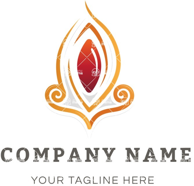 Business Logo Templates - vector graphics in a pack from GraphicMama - Business logo ornament color
