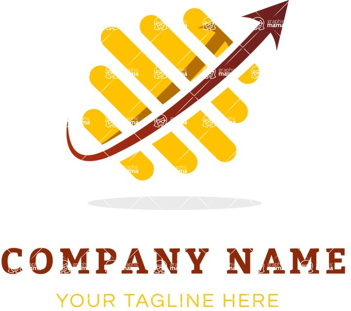 Business Logo Templates - vector graphics in a pack from GraphicMama - Dynamic business logo color