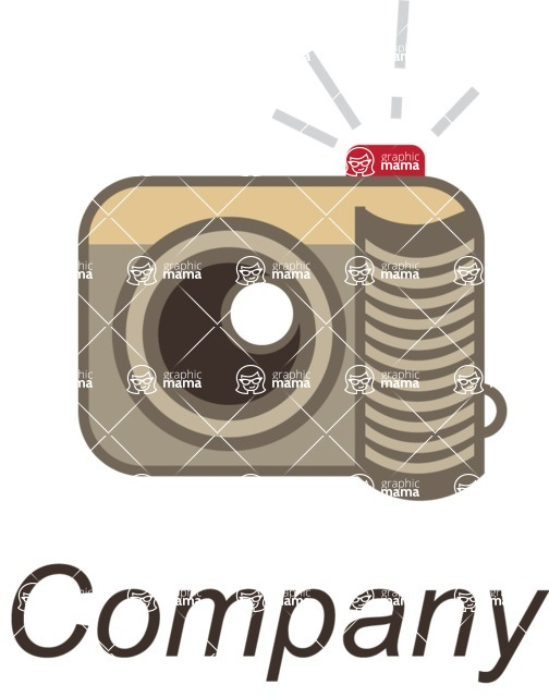 Business Logo Templates - vector graphics in a pack from GraphicMama - Company logo photography color
