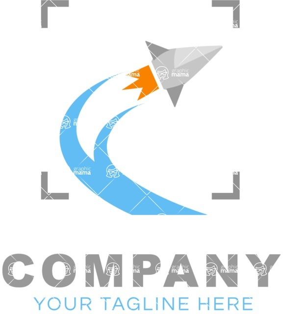 Business Logo Templates - vector graphics in a pack from GraphicMama - Business logo start up color