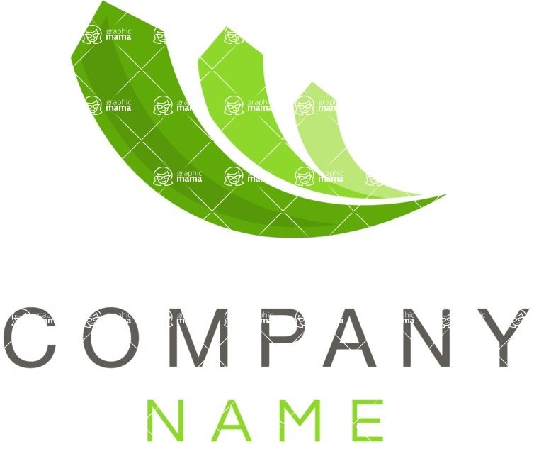 Company logo growth color