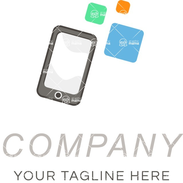 Company logo mobile color