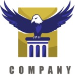Business Logo Templates - vector graphics in a pack from GraphicMama - Company logo eagle color