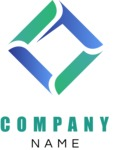 Business logo rhomboic color
