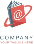 Company logo e book color