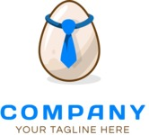 Business Logo Templates - vector graphics in a pack from GraphicMama - Business logo egg color